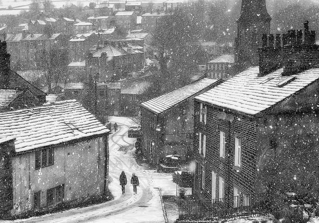Ripponden, Winter