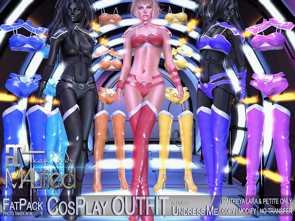 MALified – Undress-Me CosPlay Outfits – FatPack