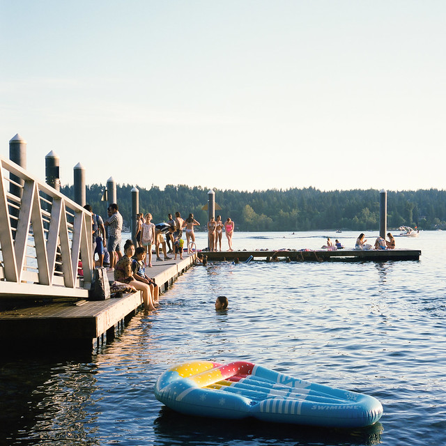 sunny days on the lake