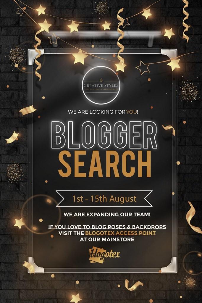 Creative Stylez & Backdrop Stylez Blogger Search