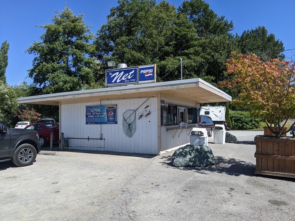 The Net Drive Inn just west of Mount Vernon along Memorial Highway.