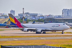 Asiana Airlines Cargo Boeing 747-400BDSF HL7423