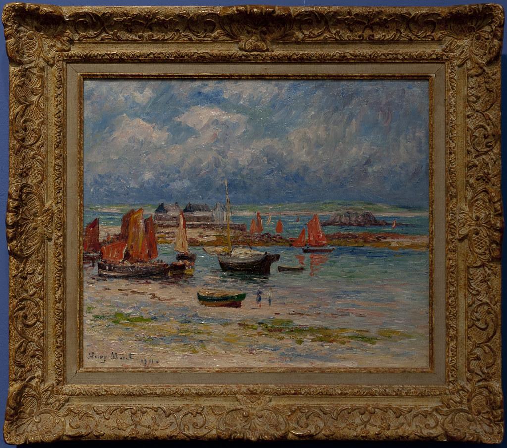 MORET Henry 1911 Le port de Tréboul