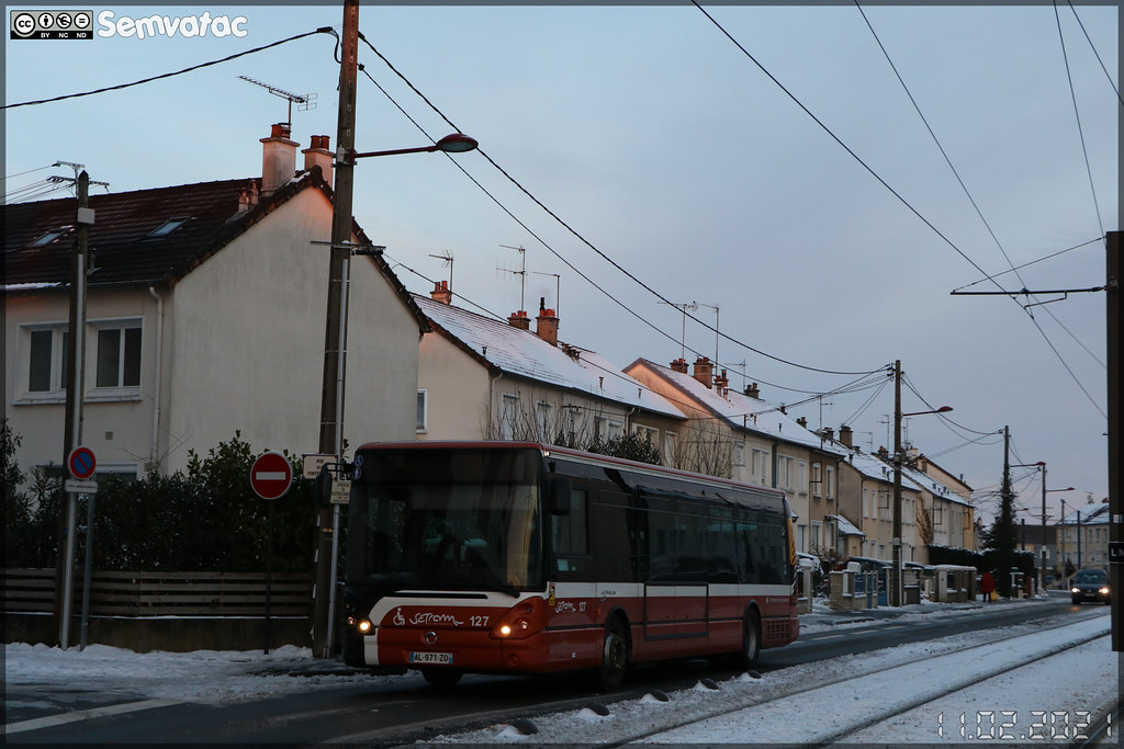 Irisbus Citélis 12 – Setram (Société d'Économie Mixte des TRansports en commun de l'Agglomération Mancelle) n°127