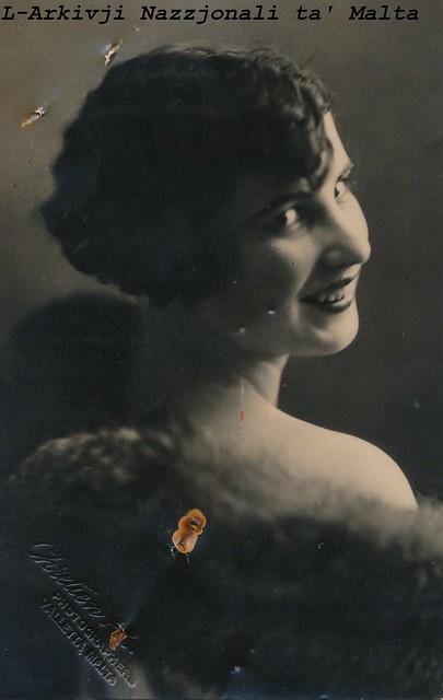 1928 Passport Photo