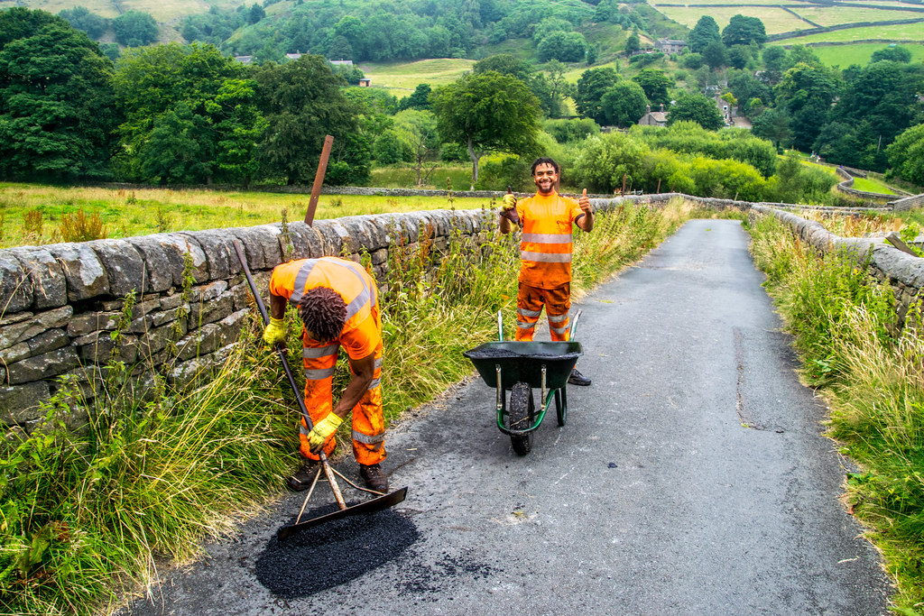 Mending our roads, One by One