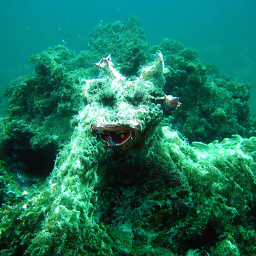 'a sea monster' CLIP Guided Diffusion Text-to-Image