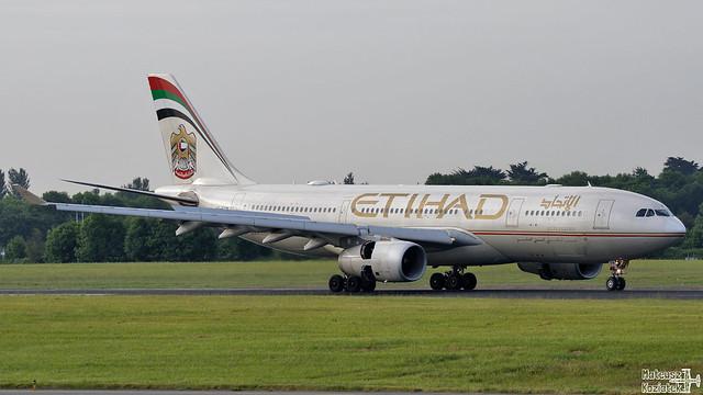 Etihad Airways 🇦🇪 Airbus A330-200 A6-EYN