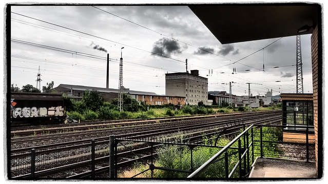 Blick über die Gleise
