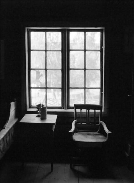 Lærerens rum i Skolestua, Maihaugen