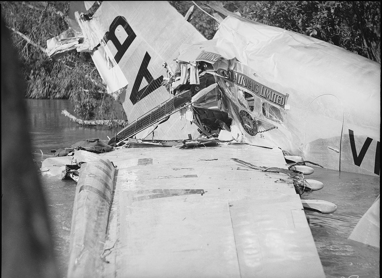 Plane crash Katherine River, 22 January 1939