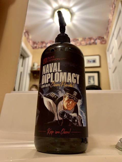 Naval Diplomacy Hand Soap - Duke Cannon Supply Company
