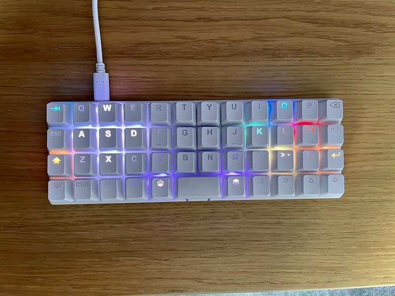 Gaming layer lighting