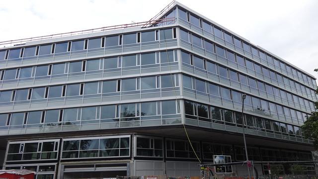 2019/21 Berlin New Courts Bürogebäude von Welter & Welter Gerichtstraße 48-49 in 13353 Wedding