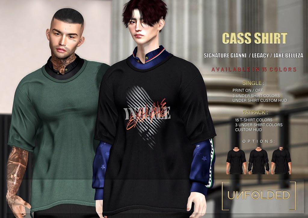 UNFOLDED X Cass Shirt ♥