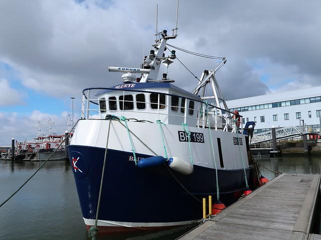 Prawn trawler Blueye, BH 199 of Blyth