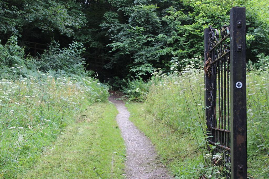Pilgrims Way path at Greenfield