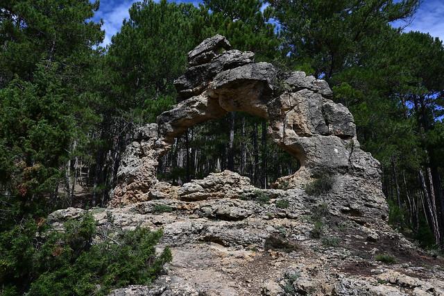 Arco de piedra.
