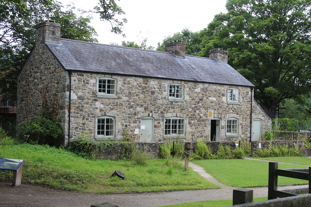 Cwm Llydan house and museum , Greenfield Valley