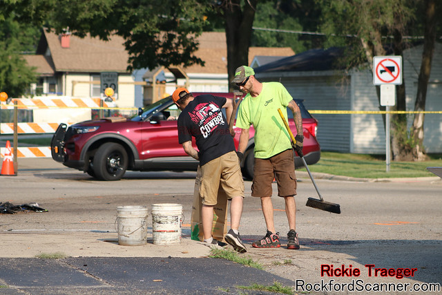 Rockford Scanner: Serious accident involving a motorcycle near Kishwaukee and Brooke