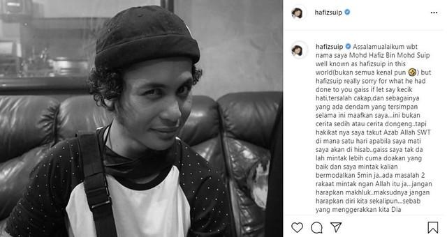 Hafiz Suip Sedih Asyik Dituduh Ambil Bahan Terlarang, Bertemu Ustaz Untuk Rawatan Alternatif