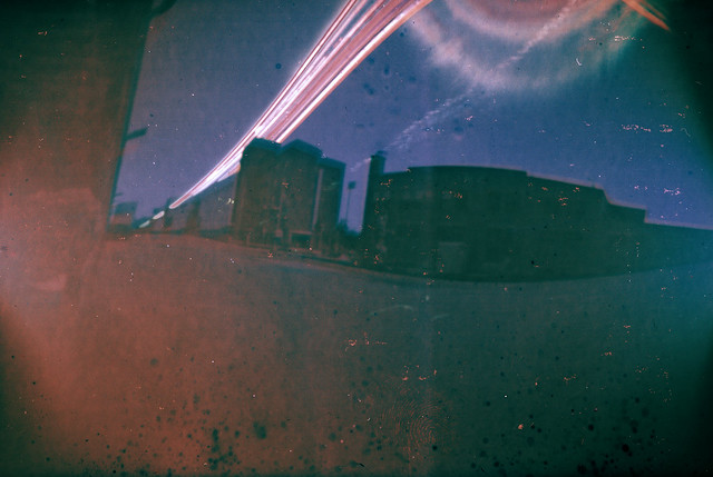 Paper negative solargraph