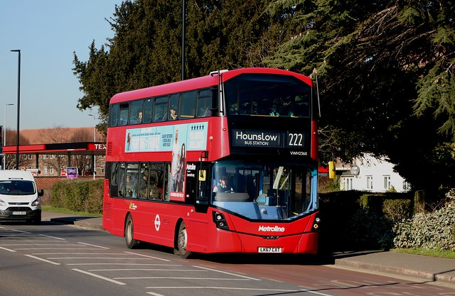 Metroline - VWH2360 - LK67CXT