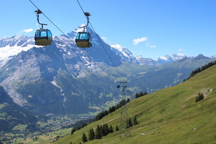 Lanovky a zubačky v regionu Jungfrau