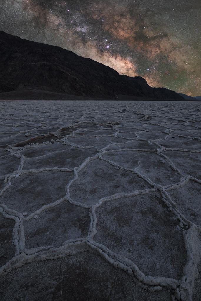 Galaxy Rise at Badwater Basin