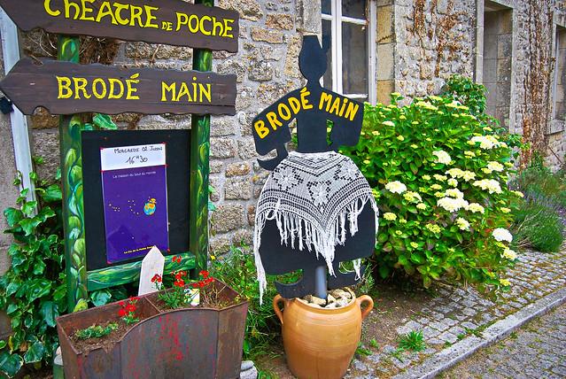 Locronan, Bretagne.