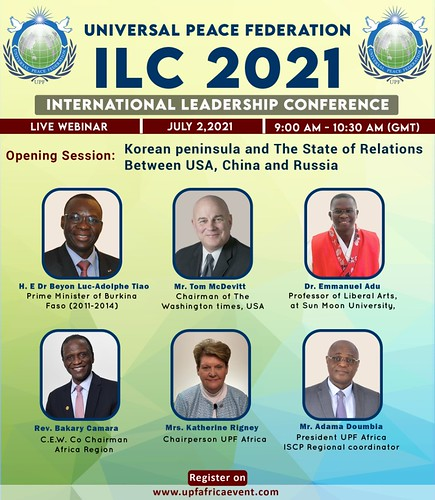 Africa-2021-07-03-UPF-Africa's ILC Demonstrates That Africa Can Play Big Role in Reuniting the Koreas