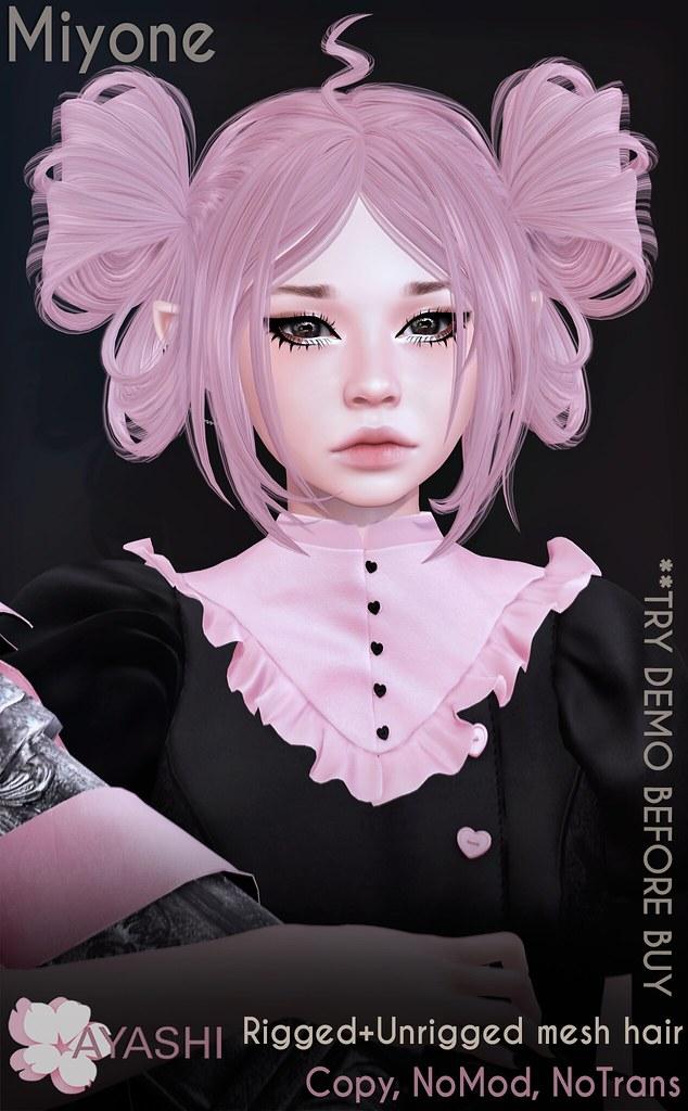 [^.^Ayashi^.^] Miyone hair special for Planet29