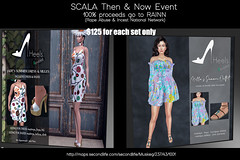 SCALA Then & Now Event  Heels Revisited Returns for this Rare Occassion!