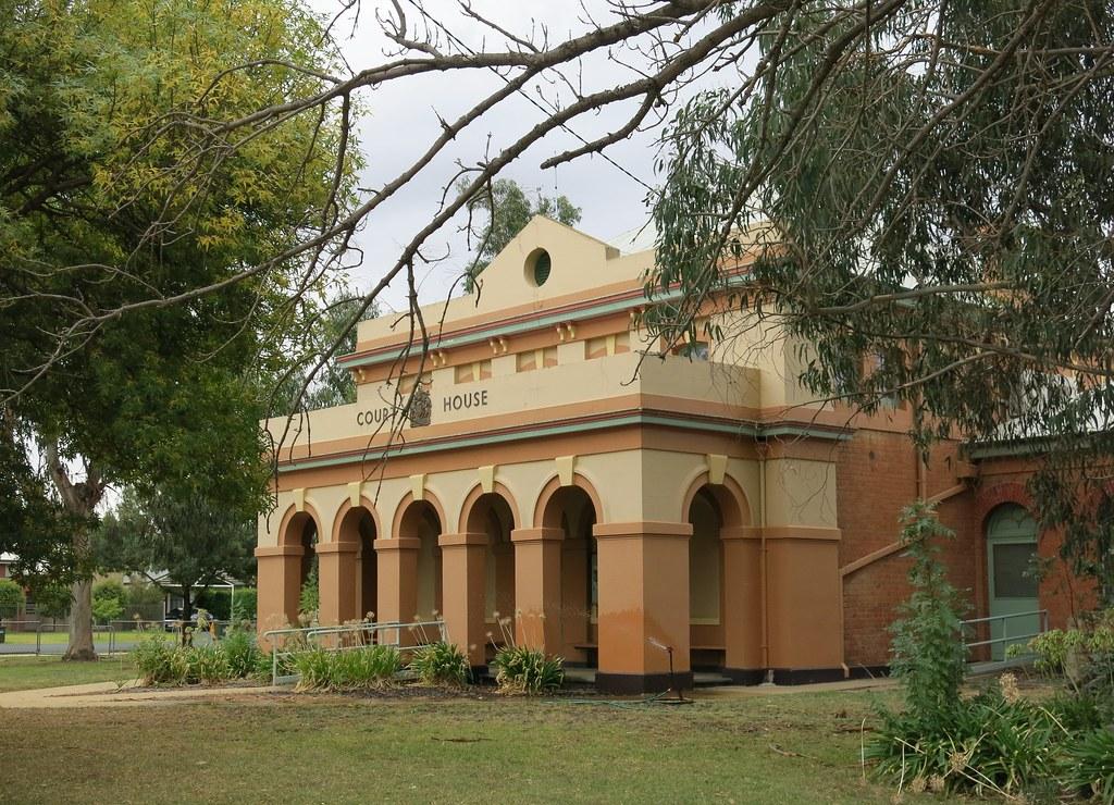 Court-house, Moama, NSW, 1884