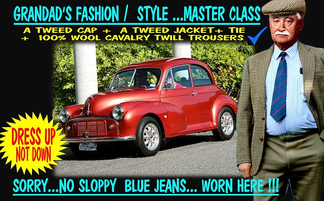 Grandad Says Dress Up Not Down  Old Cars 4