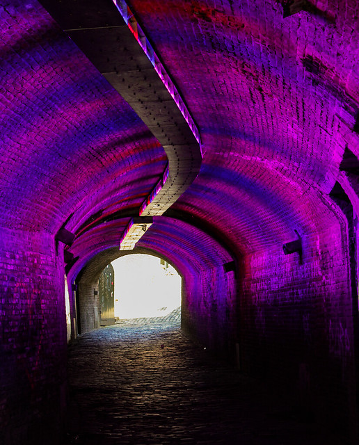 Colorful tunnel