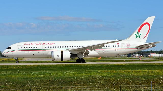 Royal Air Maroc B787-8 CN-RGS