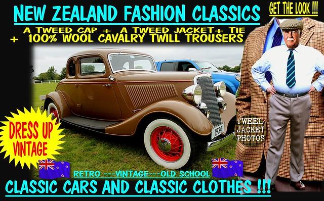 get the look wear tweed old car 6