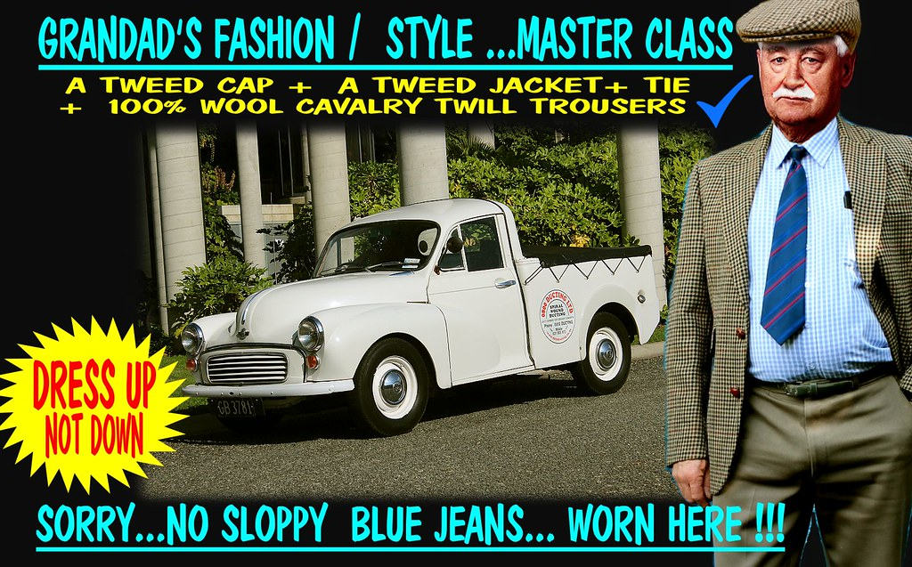 Grandad Says Dress Up Not Down  Old Cars 8