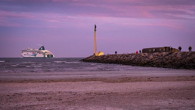 Clontarf beach, Dublin