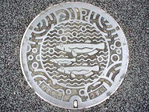 Suzuka Mie, manhole cover 4 (三重県鈴鹿市のマンホール4)