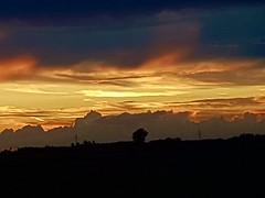 Sonnenuntergang in Wertingen