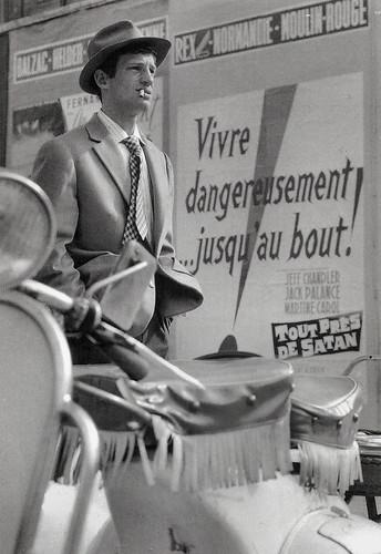 Jean-Paul Belmondo in A Bout de Souffle (1960)