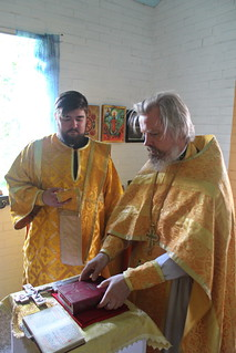 30.07.2021 | Божественная литургия в дер. Рушиново