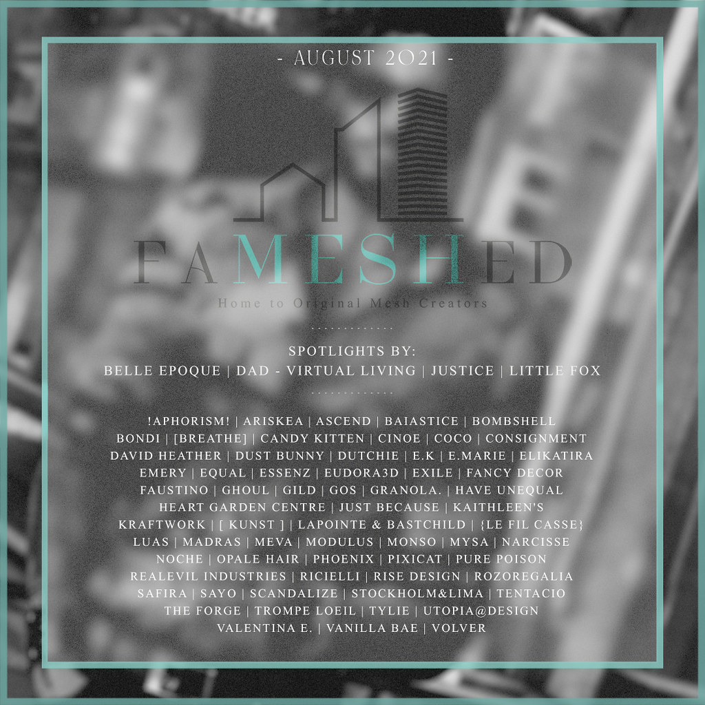 FaMESHed August 2021