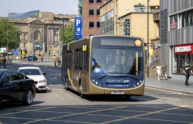 Stagecoach MCSL 'Gold' Enviro 300 SN65 ODK 27270 , Whitechapel Liverpool 21.7.21