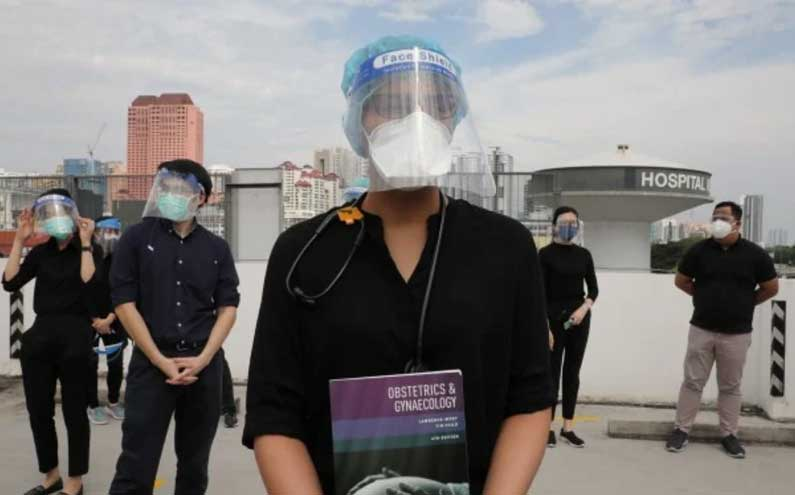 Malaysian contract doctors walk out to seek fairer treatment
