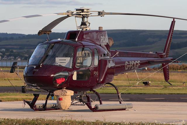 Aerospatiale AS350B2 Ecureuil G-PDGF PDG Helicopters