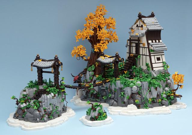 Golden Clifftop Pagoda