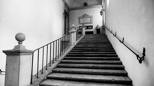 Scala dell'Oratorio di San Filippo Neri di Francesco Borromini